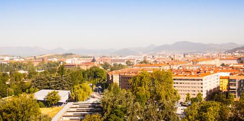 Pamplona in sunny day