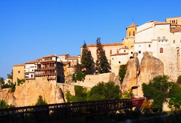 Cuenca in sunny morning