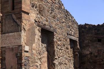 Villa in Pompeji - Domus popidi secundi augustiani