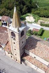 chiesa vista dall'alto