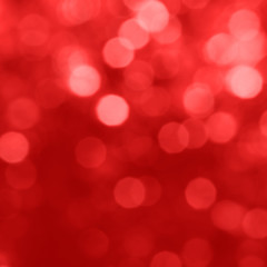 Bokeh red background