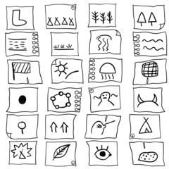Индейские знаки