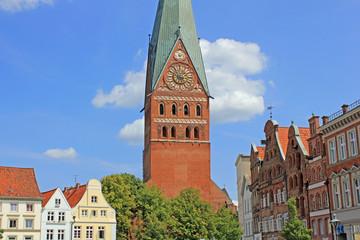 Lüneburg: Gotische Kirche St. Johannis (1270, Niedersachsen)