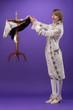 Leinwanddruck Bild - Consummate mastery of magician