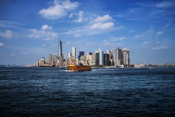 Skyline with Ferry