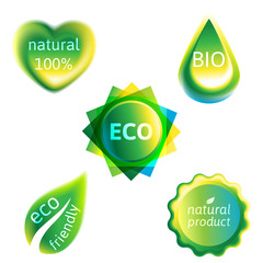 ecology labels set