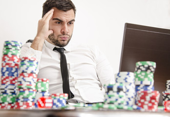 Online poker stress