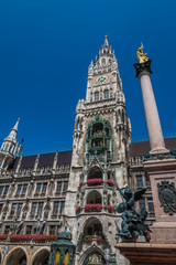 City hall of Munich Germany