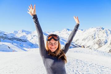 Winter fun in the Alps