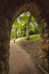 Arch at Nostell Priory, Wakefield, Yorkshire