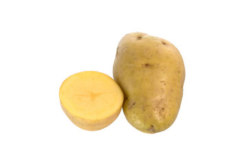 split potatoes.