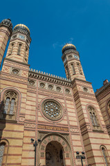 Great Synagogue in Budapest Hungary