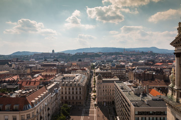 View of Budapest Hungary