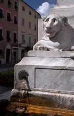 Fontana con leone