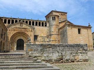 Famous Colegiata in Santillana del Mar, Cantabria