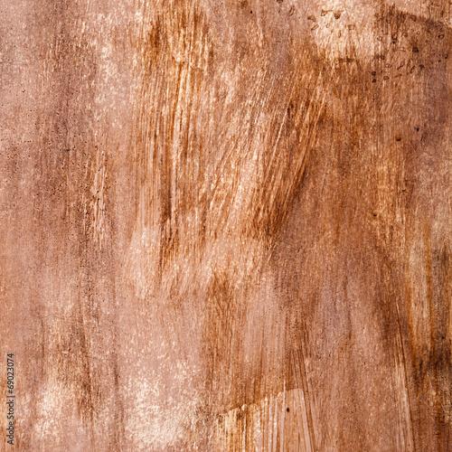 canvas print picture Textur von brauner Farbe mit Pinselstrichen