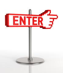Enter Signpost