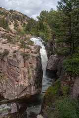 Shell Falls in Bighorn National Forest