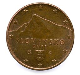 Slovenské euromince Slovak euro coins