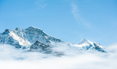 Schilthorn, on of the most famous top mountian in jungfrau regio