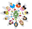 Group of Multiethnic Children with Hobbies Concept