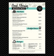 Restaurant Breakfast menu design Template layout - 69025473