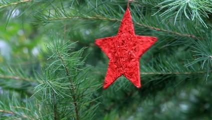 roter Stern dreht sich