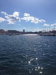 vieux port de Marseille sous le soleil
