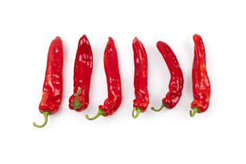 Red Paprika Chili Peppers