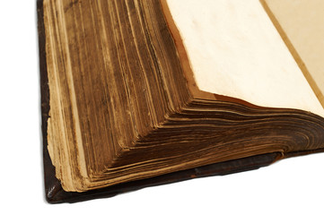 Pages of an ancient  book