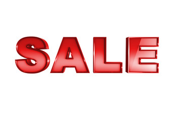 """Sale "" on white background"
