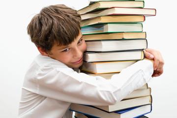 Мальчик, который очень любит читать