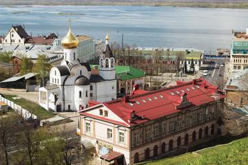 NIZHNY NOVGOROD: Church of Our Lady of Kazan