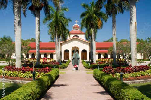 canvas print picture Kirche in Bonita Springs in Florida