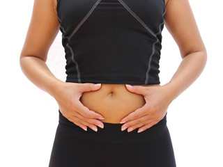 Stomach health concept