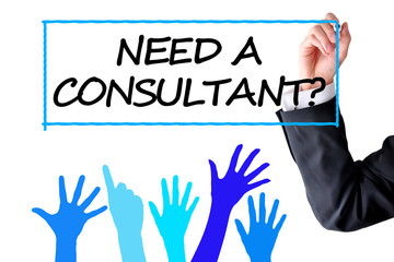 Need a consultant text hand writing by a businessman