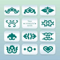 Tatar ornamental motifs