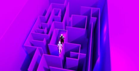 Labirinto con specchio