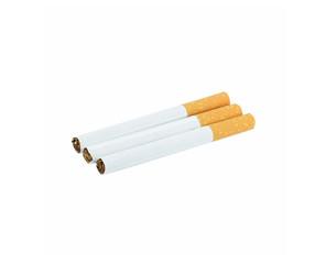 Cigarette on a white background