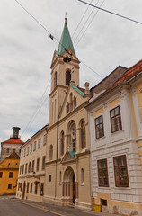 Sts Cyril and Methodius church (1880). Zagreb, Croatia