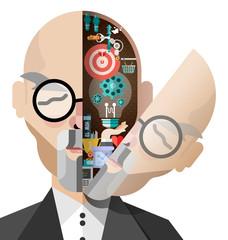 Creative ideas vector