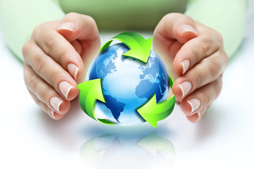 the recycling protect our planet