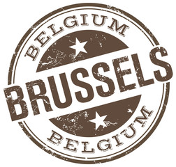 brussels stamp