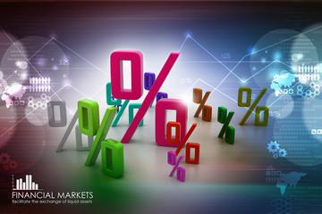 Growth percentage