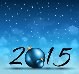 2015 Christmas Colorful Background