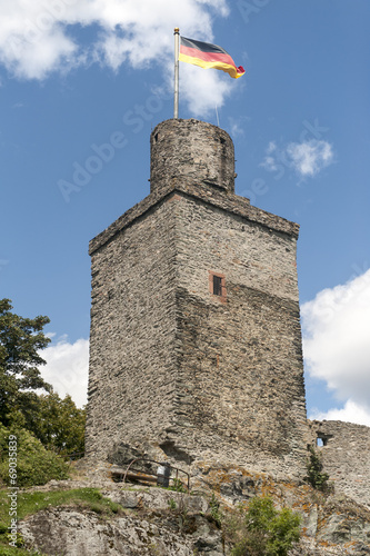 canvas print picture Burg Falkenstein