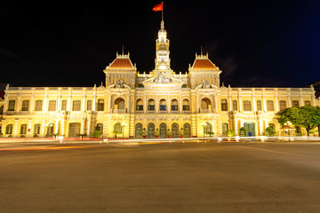 The City Hall of Ho Chi Minh in Ho Chi Minh City, Vietnam