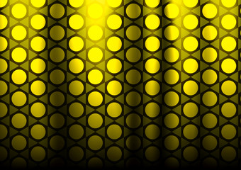 vector honeycomb gold  pattern for curtains