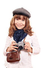 beautiful little girl photographer portrait