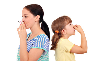cigarette smoking is dangerous to the health of the child